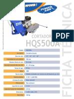 Cortadora HQS500A