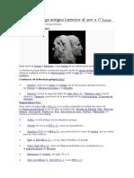 Literatura Griega Antigua