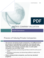 Private Company Valution