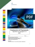 Fundamentos de Programação. Algoritmos & Linguagem C++ (MII)