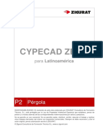 0188 AM P2 Pergola CYPECAD
