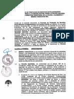 Convenio Minera Yanacocha y la Policía Nacional del Perú - Región Cajamarca