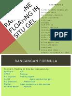 Ranitidin Floating in Situ