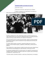 70 Años Del Heroico Alzamiento Judío en El Gueto de Varsovia