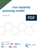 Workforce Capacity Planning Model September 2014
