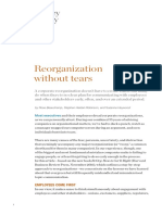 Reorganization Without Tears