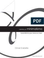 Camino al minimalismo Omar Carreño.pdf