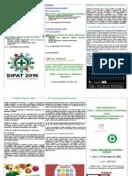 Palestras - Folder