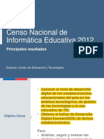 censo informatica educativa enlaces 2013