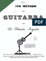 5. Aguado, Metodo Para Guitarra, 12-20