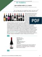 Diez Buenos Vinos Que Cuestan Entre 3 y 5 Euros _ El Viajero _ EL PAÍS