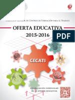 Oferta Educativa 2015-2016 DGCFT