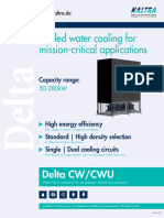 Chilled water cooling units for mission-critical applications