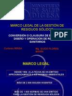 Clase 0 Marco Legal de La Gestion de Residuos Solidos