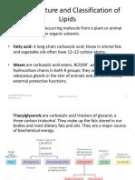 Lipiad and Fatty Acids
