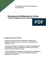 Comparación Máquinas de Turing