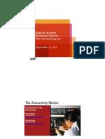 Pwc Tax Accounting 101 2012 02 En