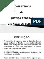 Competência - Justiça Federal.pptx