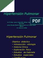 Hipertension Pulmonar en Adultos
