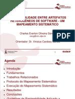 Rastreabilidade entre Artefatos Heterogêneos de Software - Um Mapeamento Sistemático (Apresentação)