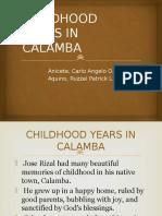 Childhood of Rizal