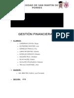 Monografía del curso Financiera