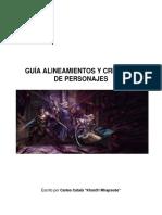 Guía de Alineamientos y Creación de Personajes
