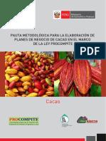 Pauta Planes de Negocio Cacao