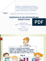 Portafolio de Estrategias Dalis Levy