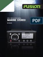 Manual de Instalação SOM MS-RA200