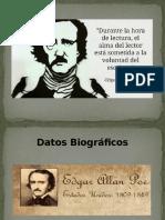 Presentación Allan Poe