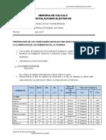 CALCULO DE ELECTRICAS EN VIVIENDA BIFAMILIAR FINAL 30.06.15.docx