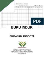 Buku Simpanan Anggota