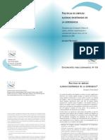 Freyssinet Jacques - Polìticas de Empleo