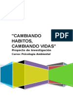 Psicologia Ambiental Proyecto