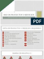 Red de Productos y Servicios