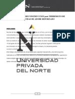 PROPUESTA DE RECONSTRUCCION post-TERREMOTO DE VIVIENDAS DE ADOBE REFORZADO