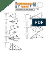 Examen 08 Unidad Geometría 1º