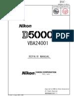 Nikon D5000 repair manual.pdf