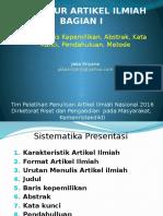 Struktur Artikel Ilmiah I_2016-Jaka-S(Updated).pptx