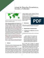 Pacto Internacional de Derechos Económicos, Sociales y Culturales