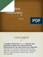 Analisis Financiero Concepto Alcance