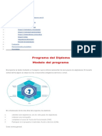 Modelo Del Programa