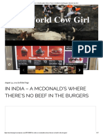 In India – a McDonald's Where There's No Beef in the Burgers _ World Cow Girl