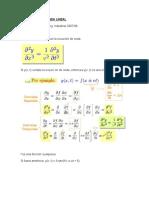 Ecuacion de La Onda Lineal y Ejercicios