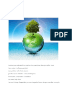 About Environment - Go Green.docx