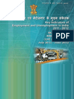 Key indicators of Employment and Unemployment Situation in India 2011-12.pdf
