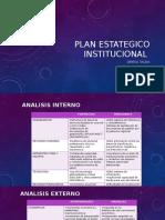 Plan Estategico Institucional