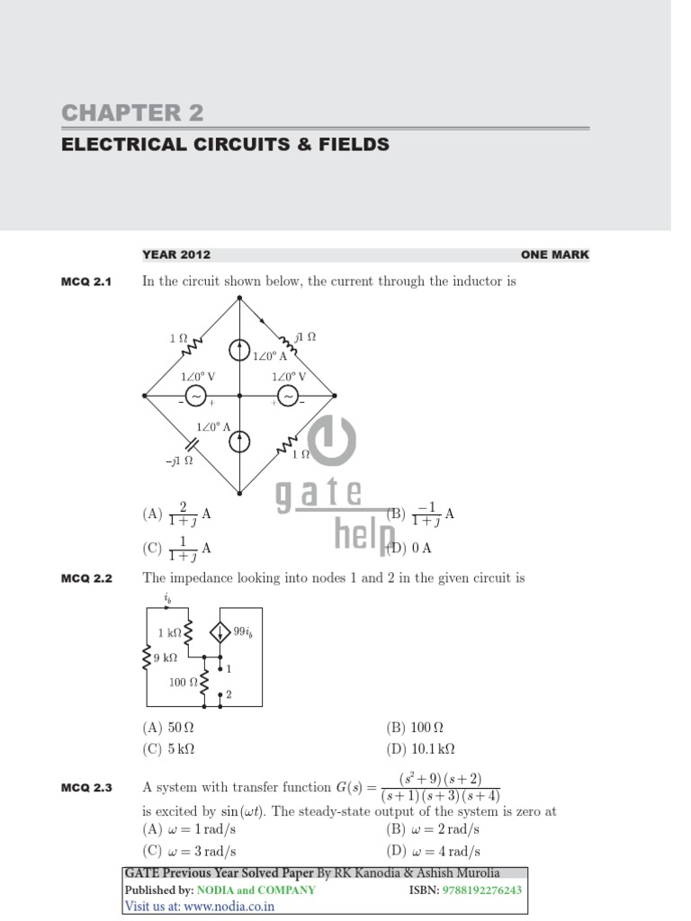 Electrical Circuits Fields Capacitor Inductance How To Solve A Circuit