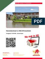 Brochure Herentalsstraat 4 te IJsselstein
